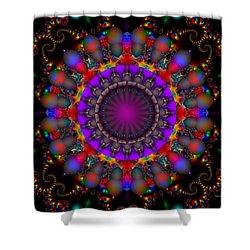 Shower Curtain featuring the digital art Timeless by Robert Orinski