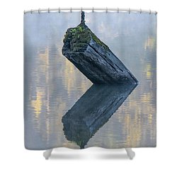 Timeless Tranquility Shower Curtain
