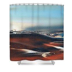 Silent Host Shower Curtain