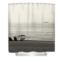 Times Gone By Shower Curtain