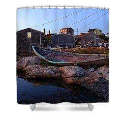 Peggy's Cove, Nova Scotia Shower Curtain by Heather Vopni