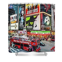 Times Square II Special Edition Shower Curtain