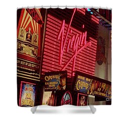 Times Square Night Shower Curtain by Debbi Granruth