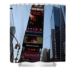 Times Square Shower Curtain by Rob Hans
