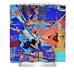 Timestorm Shower Curtain