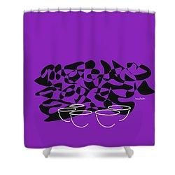 Timpani In Purple Shower Curtain