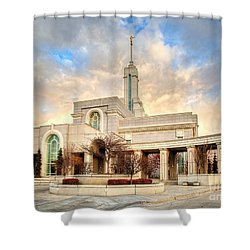Timpanogos Temple Shower Curtain