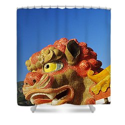 Tin Hua Temple Shower Curtain by Gloria & Richard Maschmeyer - Printscapes