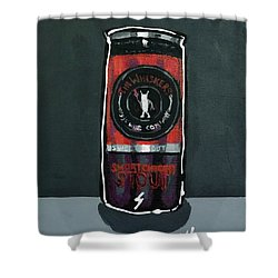 Tin Whiskers Shower Curtain