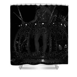 Tinker Bell Shower Curtain by Rob Hans