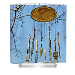 Shower Curtain featuring the photograph Tintinnabulation.. by Nina Stavlund