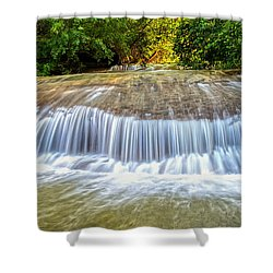 Shower Curtain featuring the photograph Tinton Falls After The Rain by Gary Slawsky
