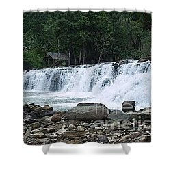 Tinuy-an Falls Shower Curtain