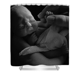 Tiny Fingers Shower Curtain