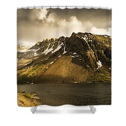 Tioga Lake In June Shower Curtain