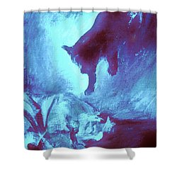 Tip Toeing On Little Cat Feet Shower Curtain