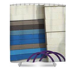 Tipsy Crossing Shower Curtain