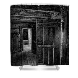 Tipton Cabin Award Winner Shower Curtain