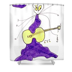 Tis Swinger Shower Curtain by Tis Art
