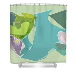 Tissue Paper Shower Curtain
