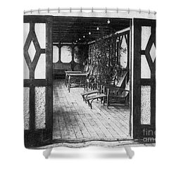 Titanic: Private Deck, 1912 Shower Curtain by Granger