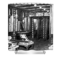 Titanic: Turkish Bath, 1912 Shower Curtain by Granger