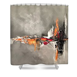 Titanium Shower Curtain