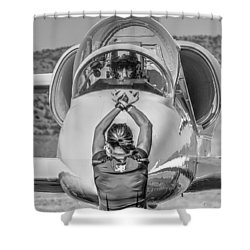 Darkstar II Taxis In Signature Edition Shower Curtain