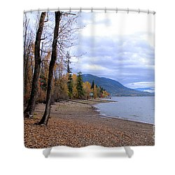The Song Of October Shower Curtain