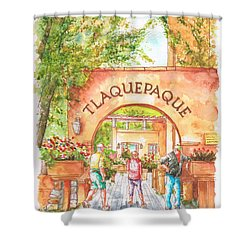 Tlaquepaque Gallery In Sedona, Arizona Shower Curtain
