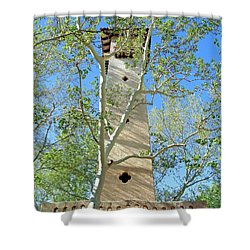 Tlaquepaque Tower Shower Curtain