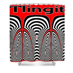 Tlingit Tribute Shower Curtain