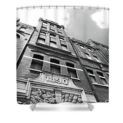 Tn Brewery Memphis 1890 Shower Curtain