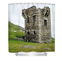 To Guard Against Ships Shower Curtain