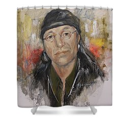 To Honor John Trudell Shower Curtain