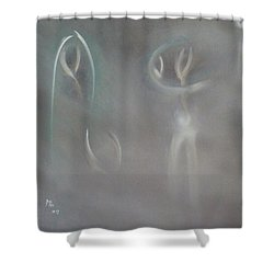 To Love ,rather Than To Like Shower Curtain