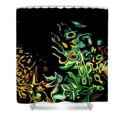 To Many Eyes Shower Curtain