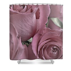 To My Sweetheart Shower Curtain by Sherry Hallemeier
