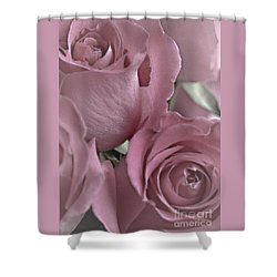 To My Sweetheart Shower Curtain