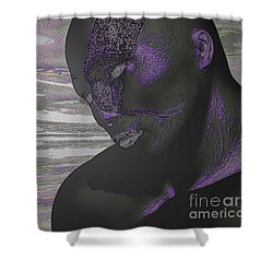 To Pin For Love Shower Curtain