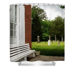 To Rest And At Rest Shower Curtain