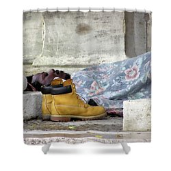 Shower Curtain featuring the photograph To Sleep Perchance To Dream by Brian Wallace