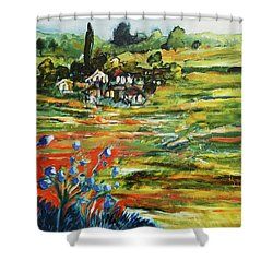 To The Country Born Shower Curtain