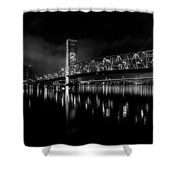 Shower Curtain featuring the photograph To The Crowne by Eric Christopher Jackson
