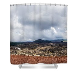 To The East Side Shower Curtain