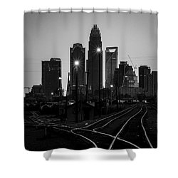 To The Queen City Shower Curtain