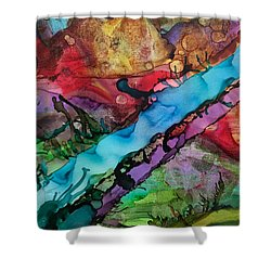 To The River Shower Curtain
