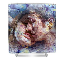 An Interval Of Time Shower Curtain