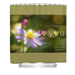 To You #003 Shower Curtain