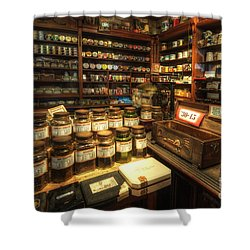 Tobacco Jars Shower Curtain